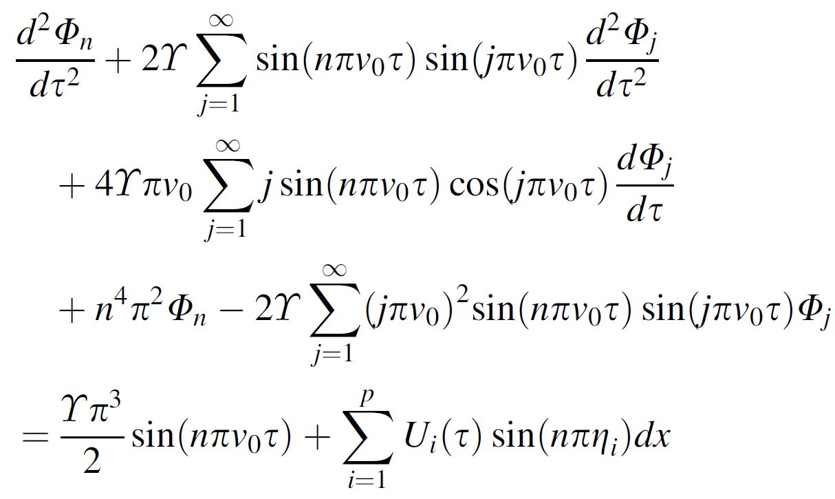 writing set of differential equations as a matrix